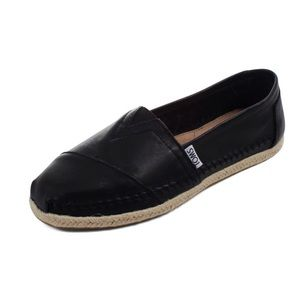 Leather Classic Slip On Shoes